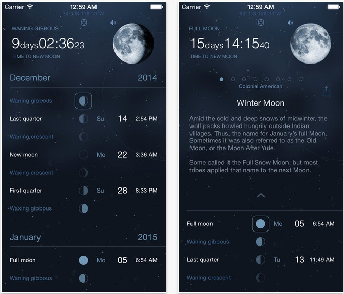 Moon Phases Deluxe