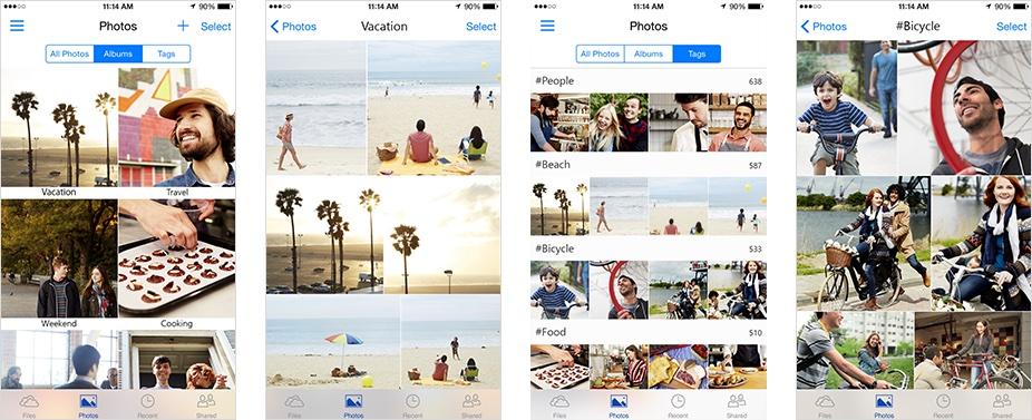 OneDrive 50 para fotos de iOS Captura de pantalla de iPhone