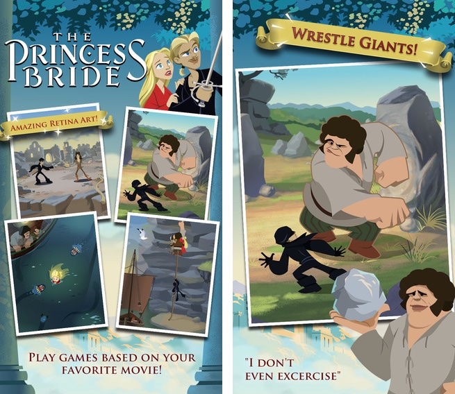 Princess Bride for iOS iPhone screenshot 001