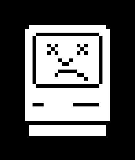 Sad Mac face