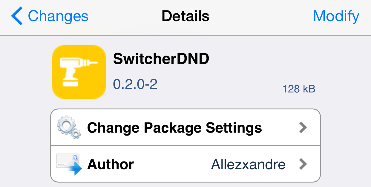 SwitcherDND Cydia