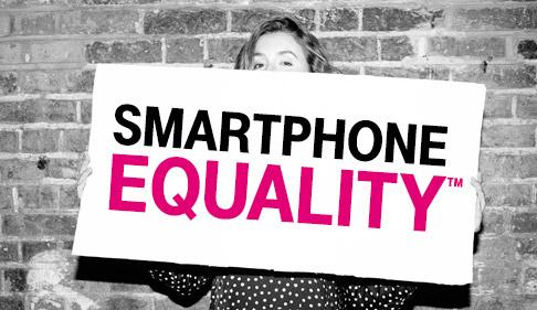 T-Mobile's Smartphone Equality gives everyone access to best deals