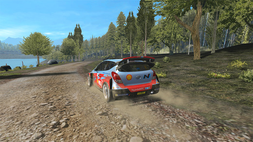 WRC The Official Game 1.0 for ios iPhone screenshot 002