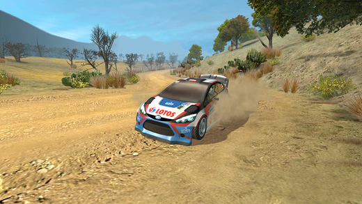 WRC The Official Game 1.0 for ios iPhone screenshot 003