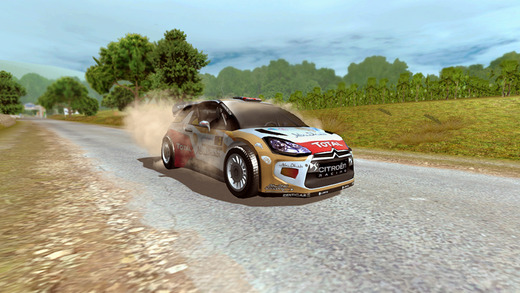 WRC The Official Game 1.0 for ios iPhone screenshot 004