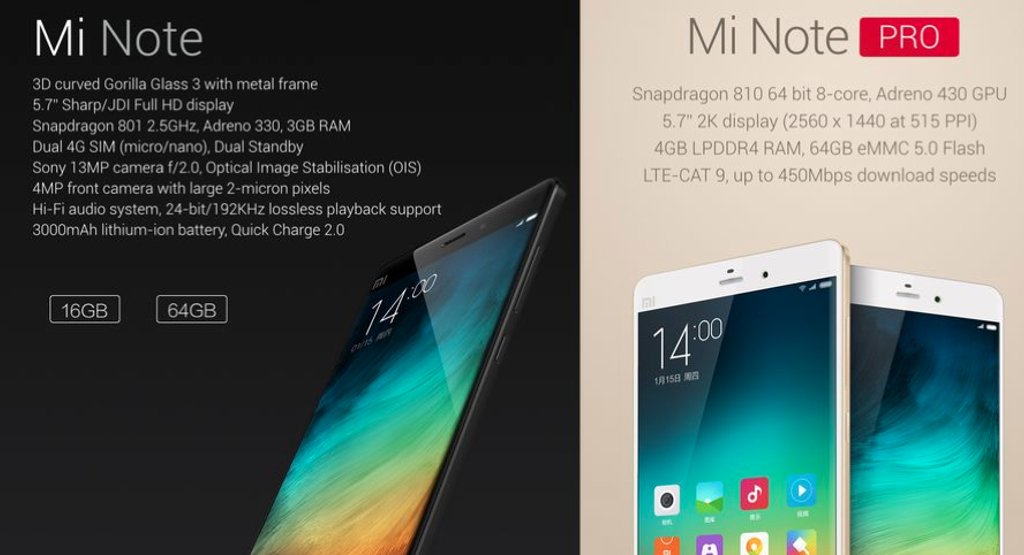 Xiaomi Mi Note specs image 002