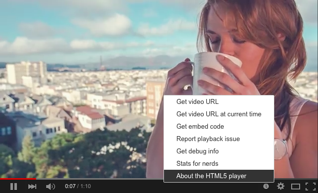YouTube HTML5 video player web screenshot 001