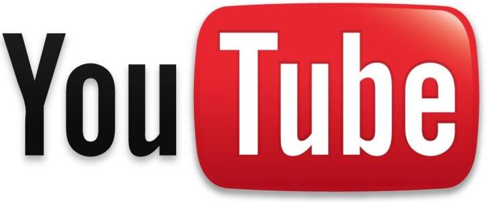 Medio de logotipo de YouTube