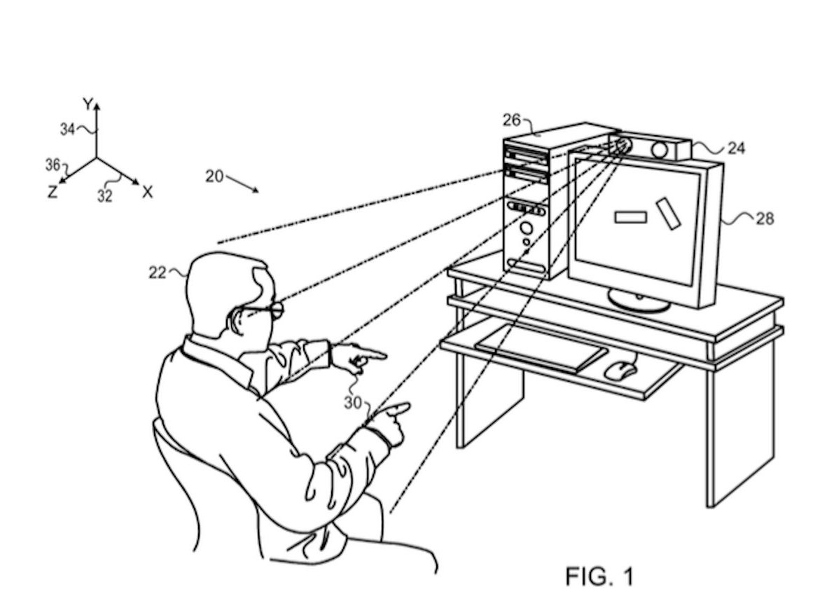 Apple files another patent for Kinect-like technology for Apple TV, Mac