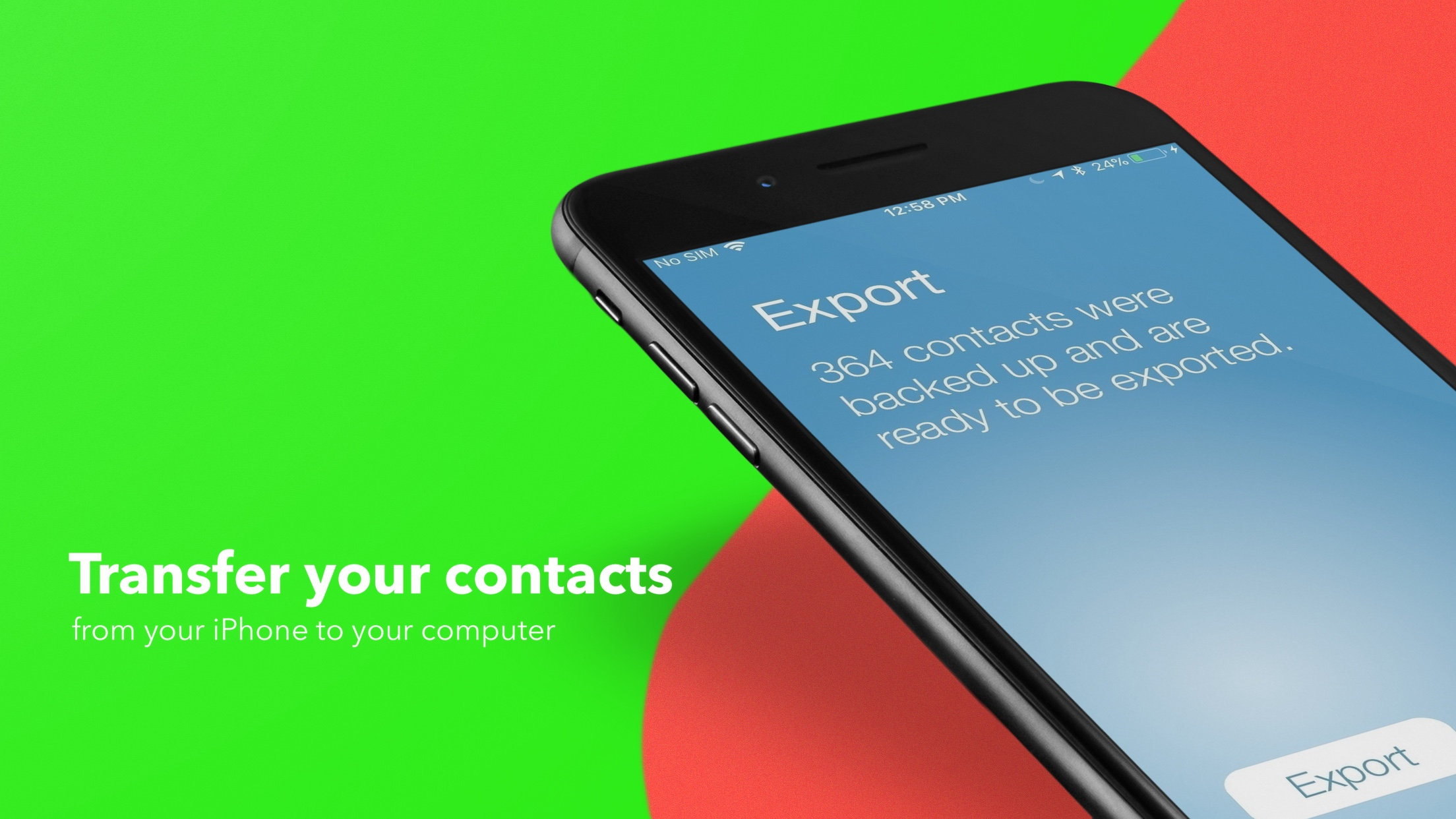 How to back up your iPhone contacts