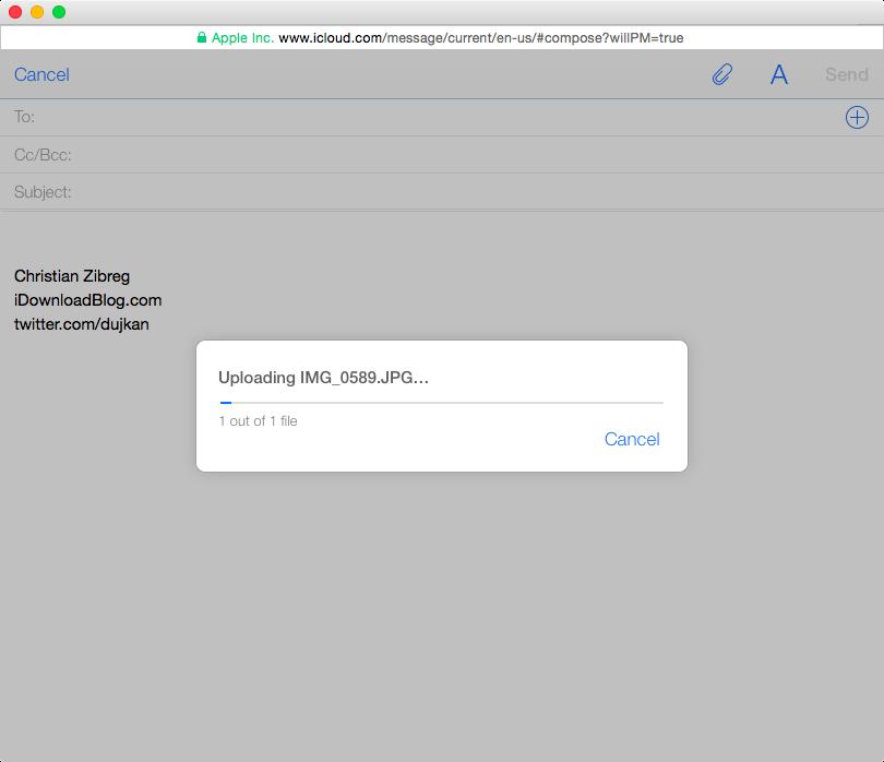 iCloud Photos email web screenshot 002