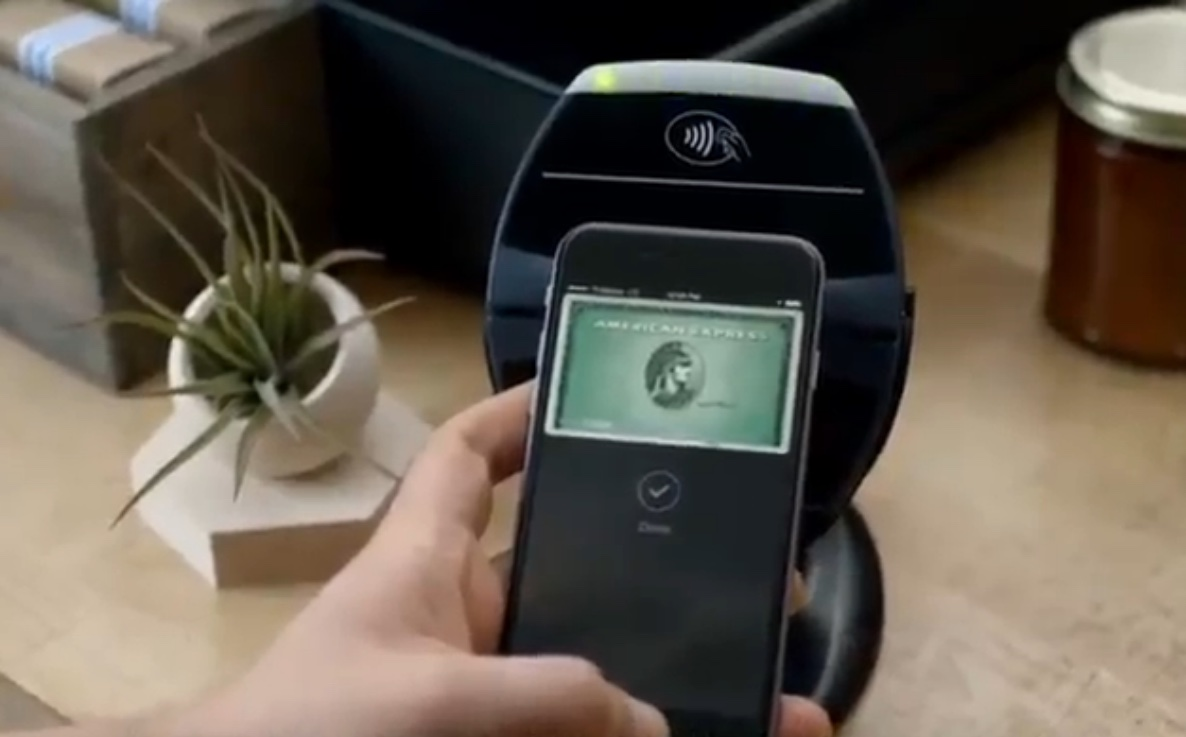 AmEx Apple Pay ad teaser 001