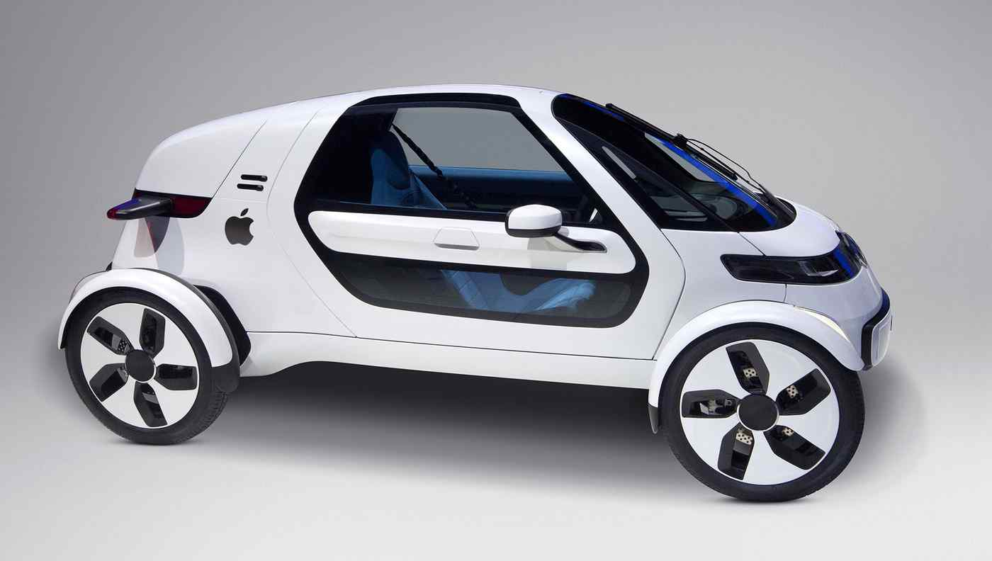 Apple Car rendering 001