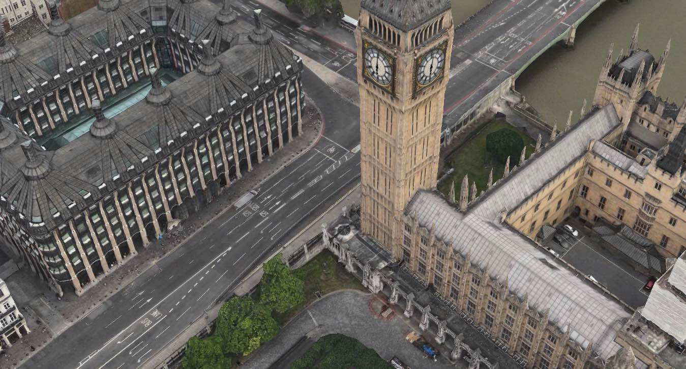 Apple Maps Big Ben