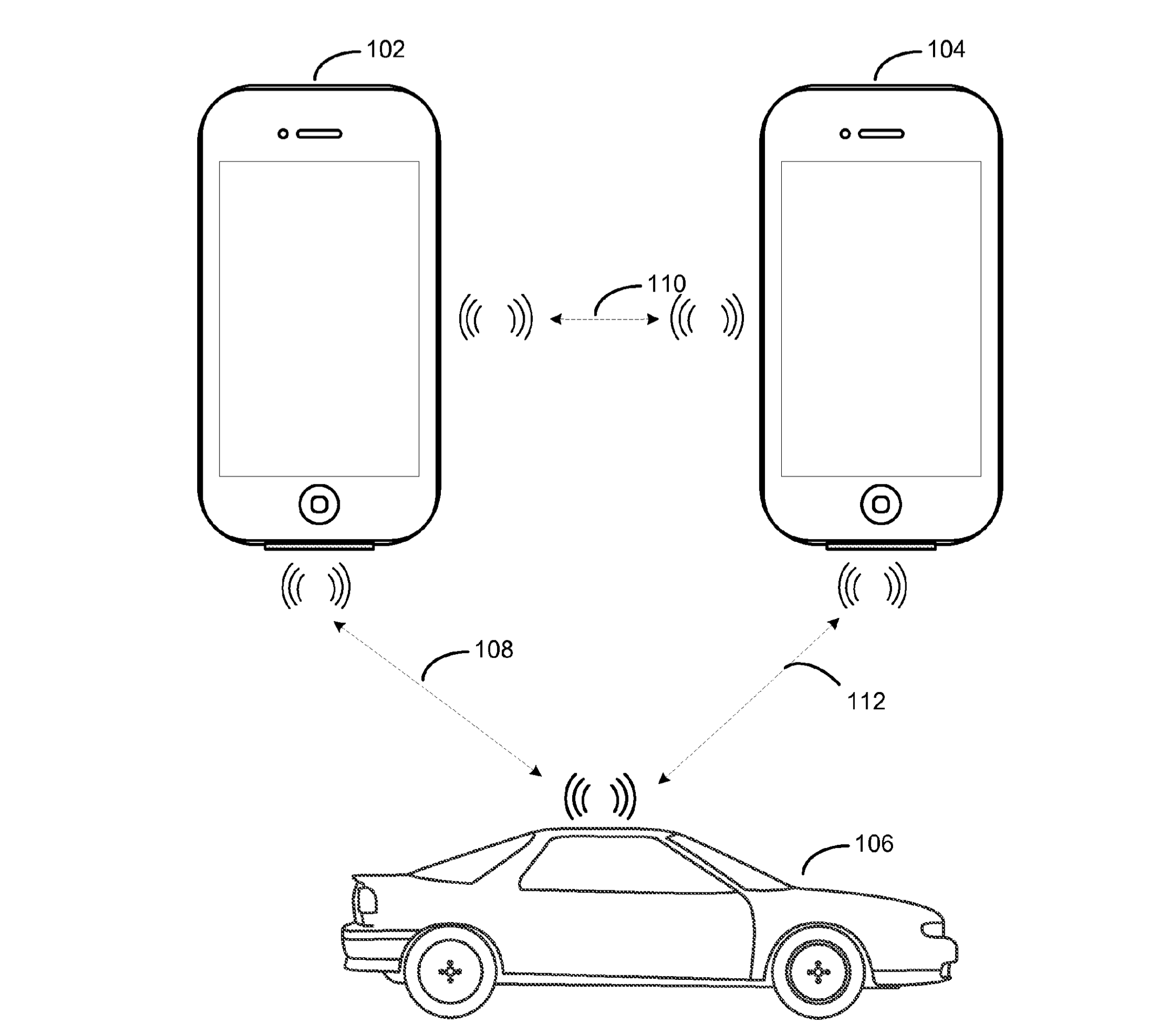 Apple patent Bluetooth car control 002