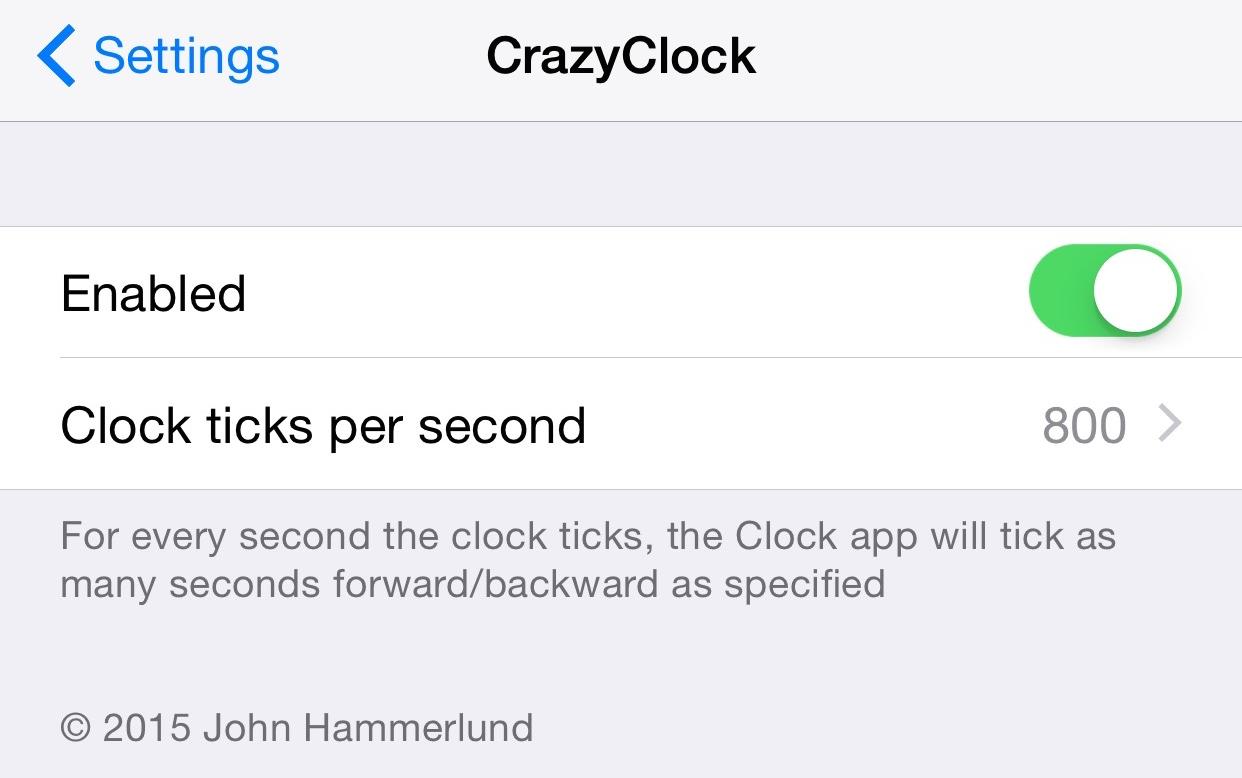 CrazyClock 2