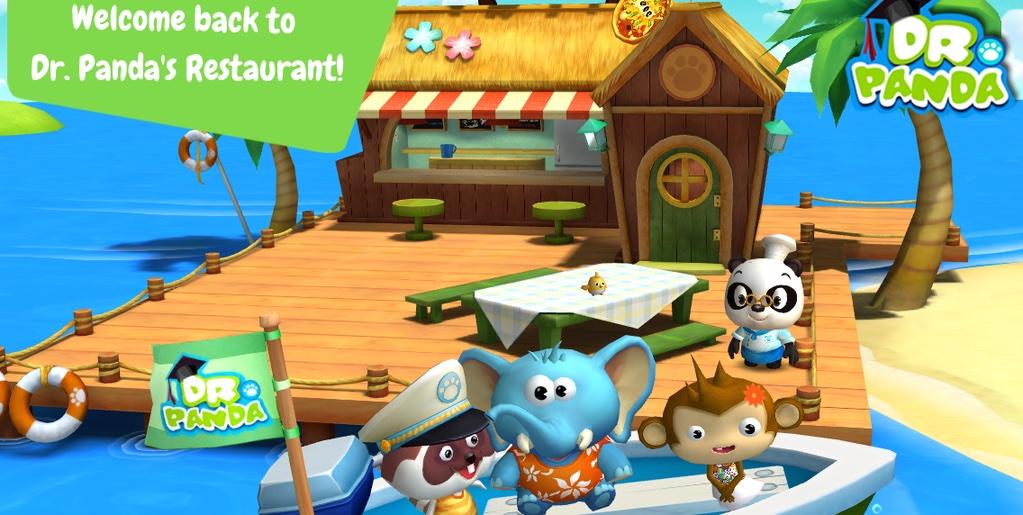 Dr Pandas Resstaurant 2 iPhone screenshot 001