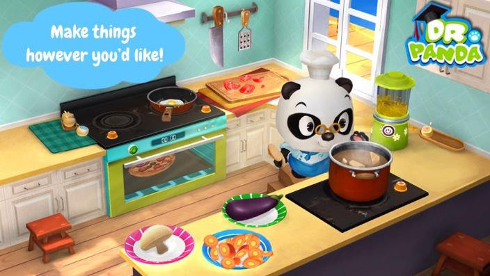 Dr Pandas Resstaurant 2 iPhone screenshot 002