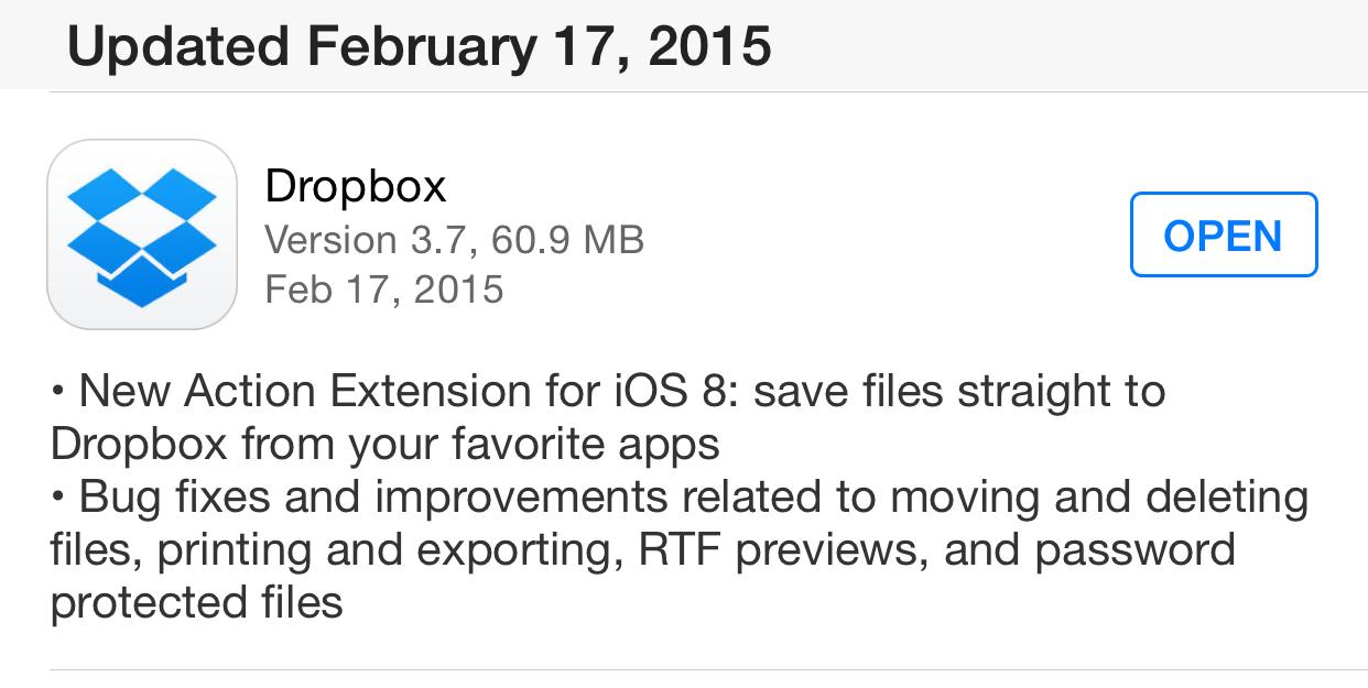 Dropbox 3.7