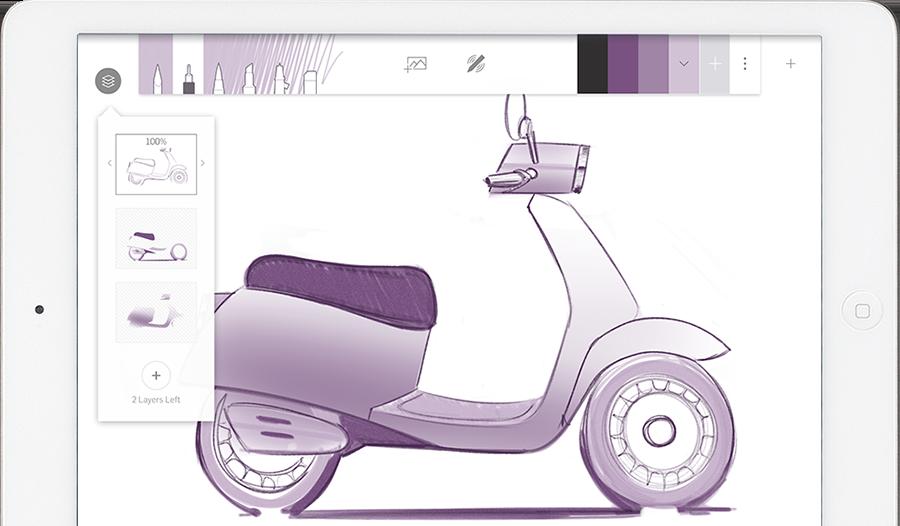 Captura de pantalla 002 de Forge by Adonit 1.0 para iOS iPad