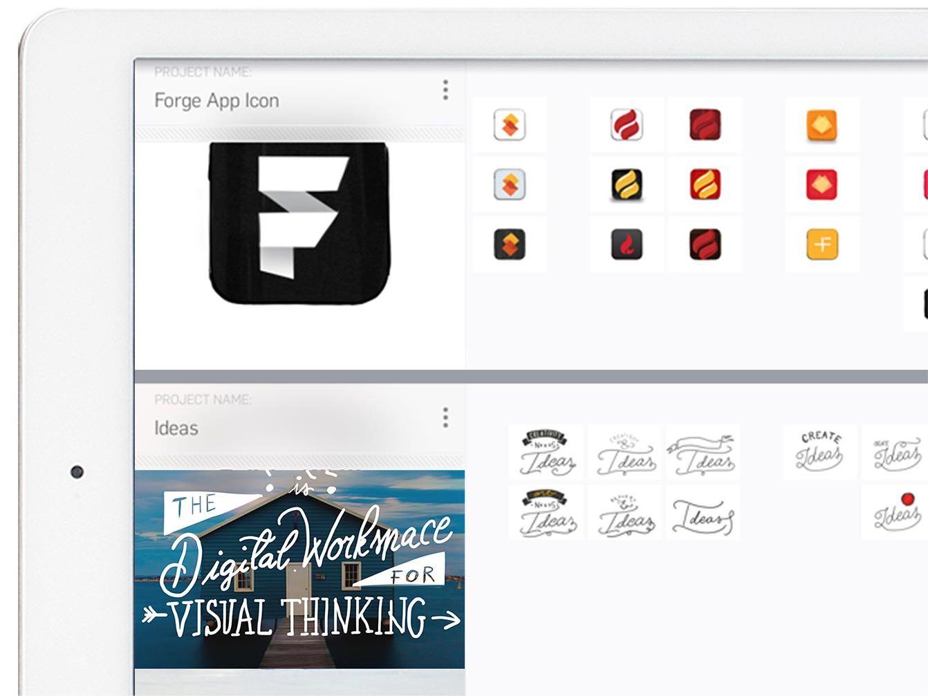 Captura de pantalla 003 de Forge by Adonit 1.0 para iOS iPad