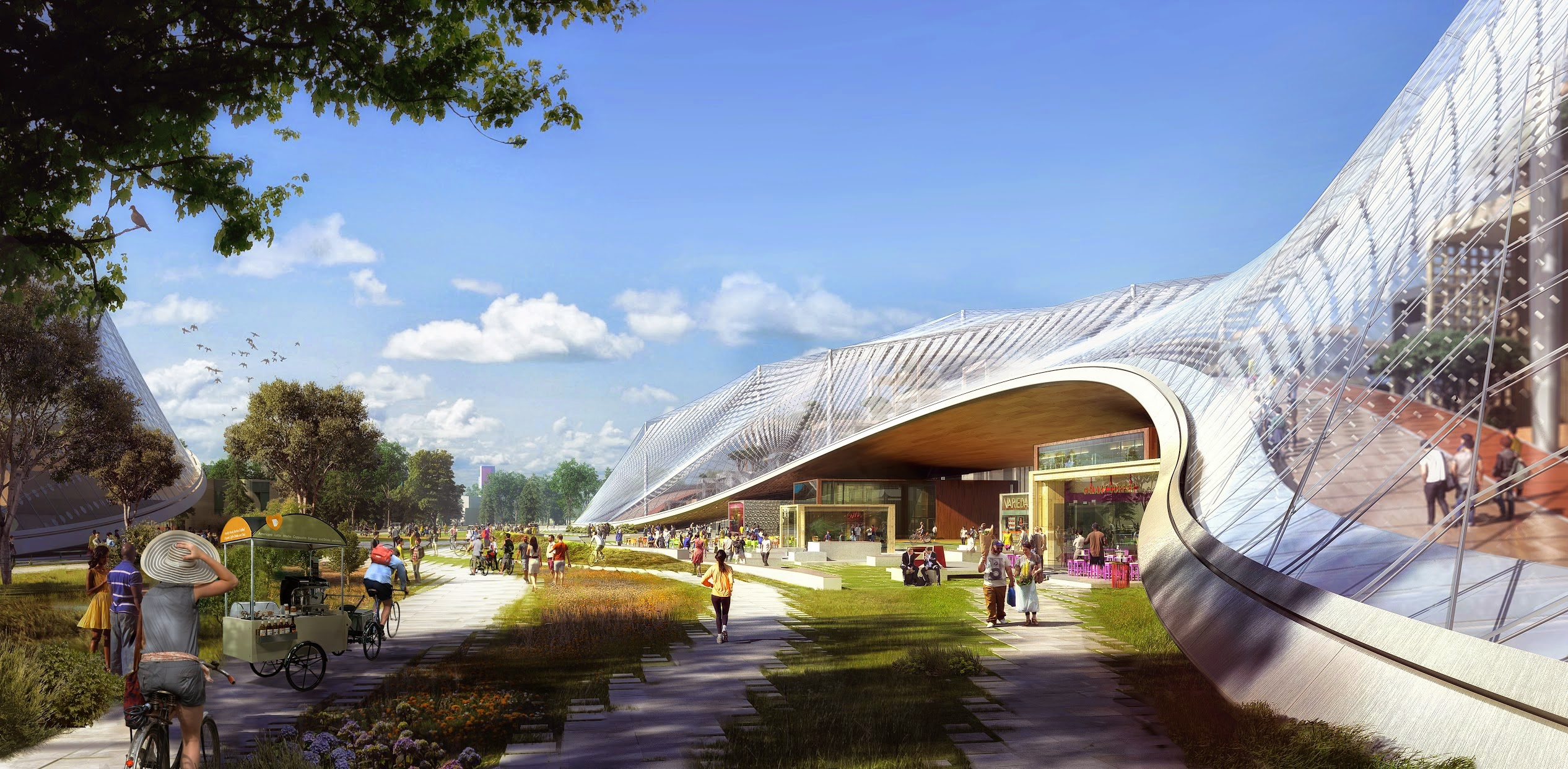 Google North Bayshore Campus proposal rendering 001