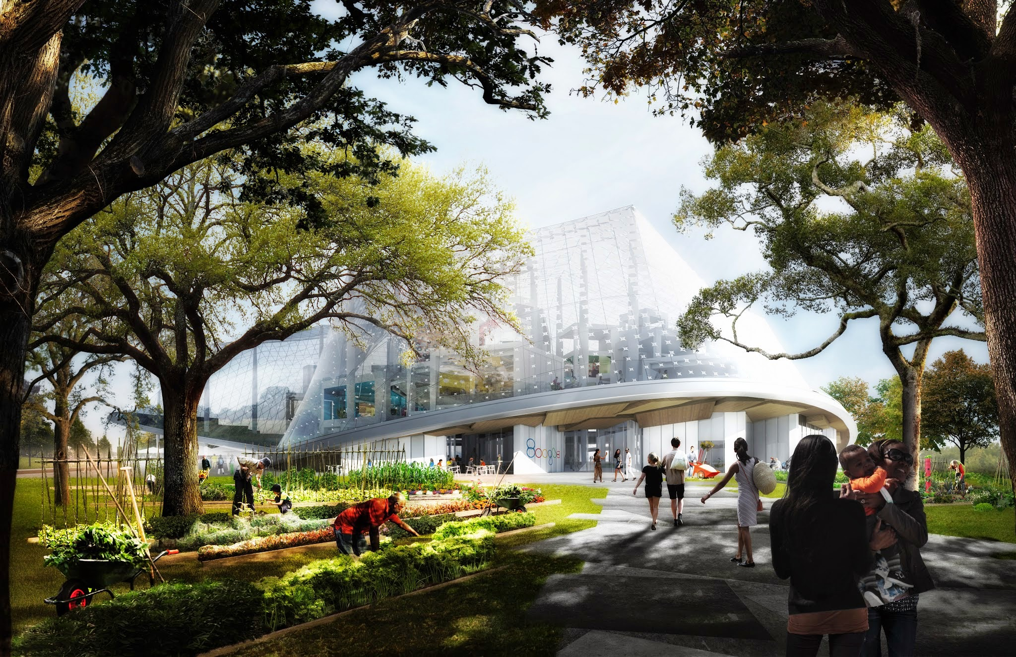 Google North Bayshore Campus proposal rendering 006