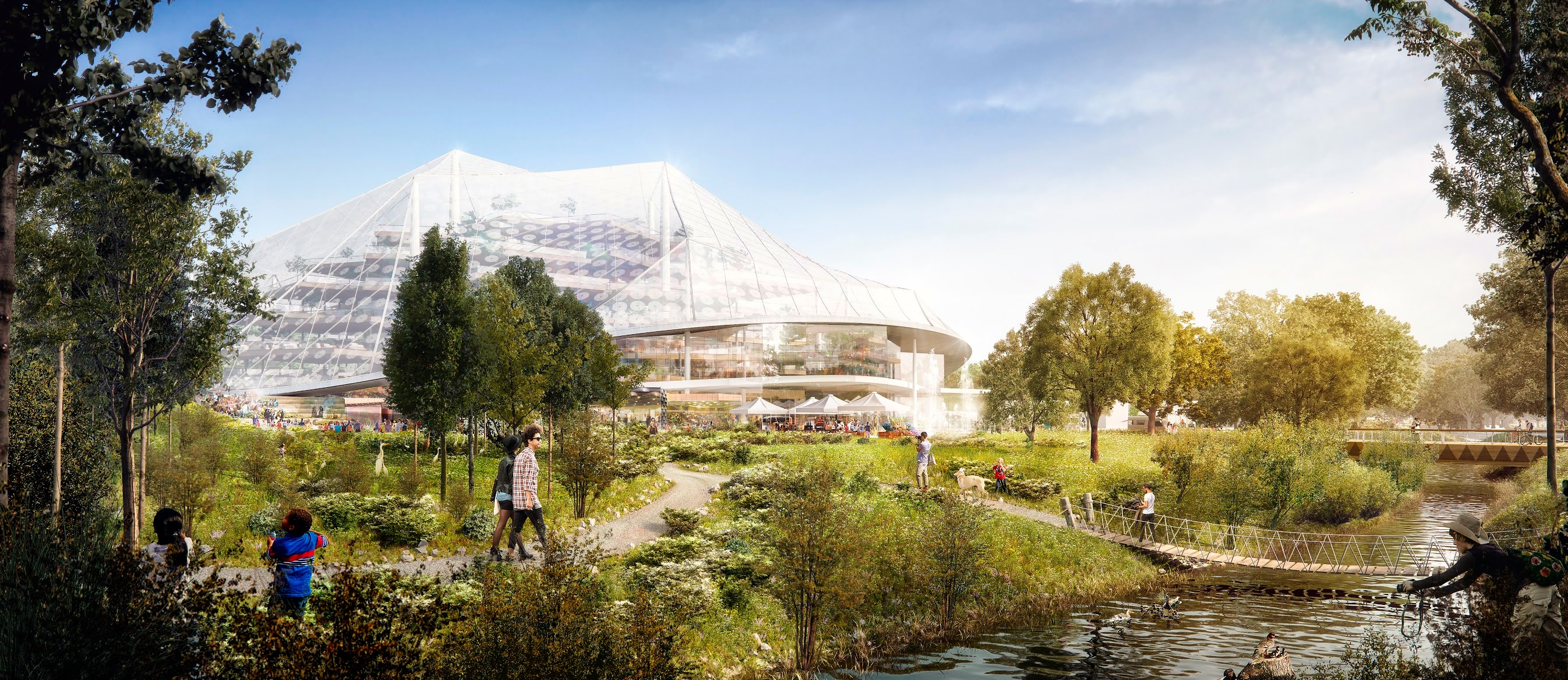 Google North Bayshore Campus proposal rendering 007