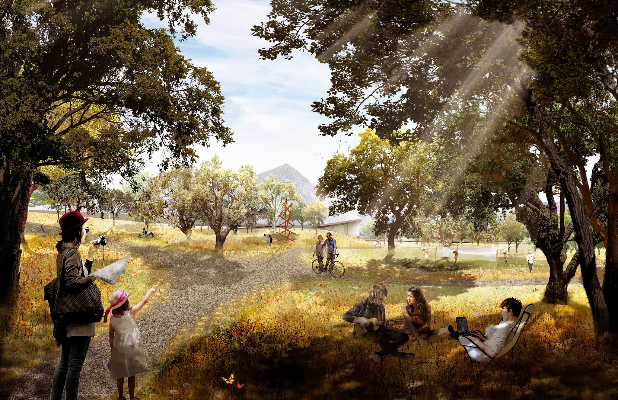 Google North Bayshore Campus proposal rendering 008