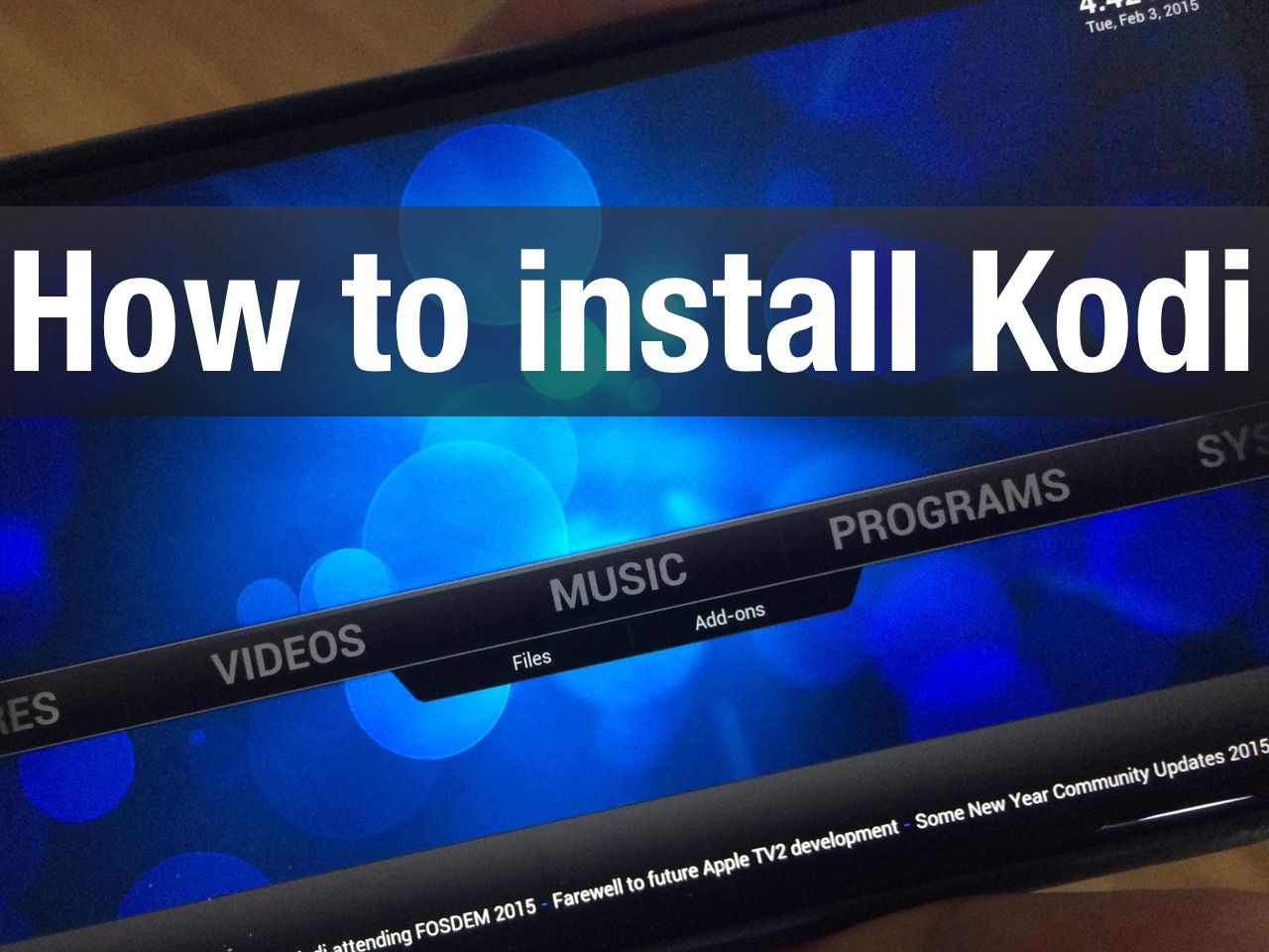 how to get latest firmware on my kodi android box