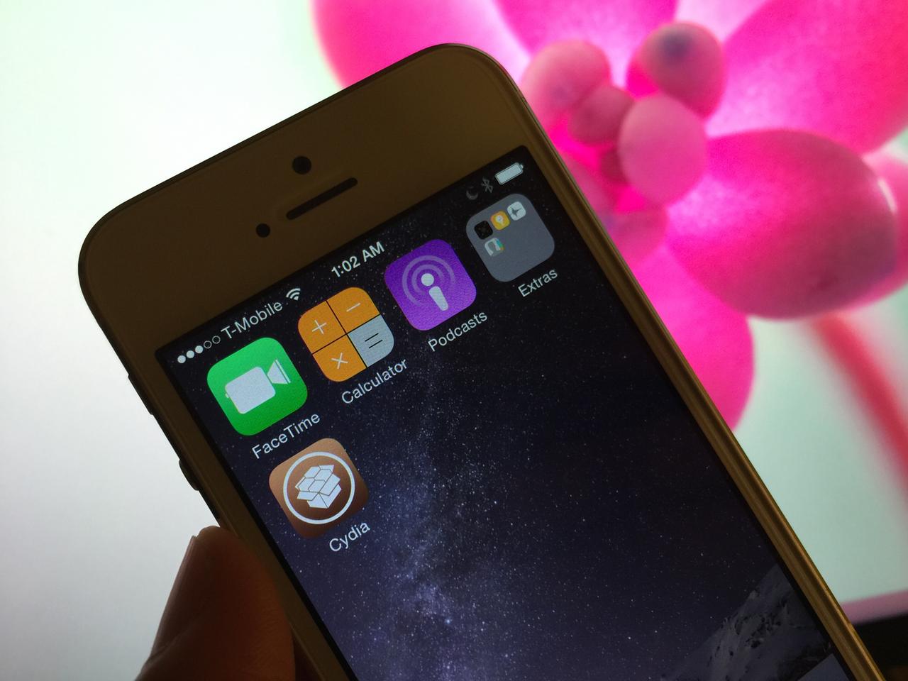 Jailbreak iOS 8.2 beta TaiG Windows