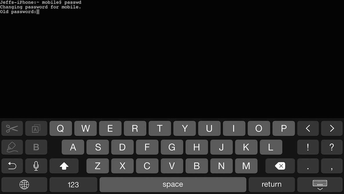MTerminal is a great replacement for Mobile Terminal