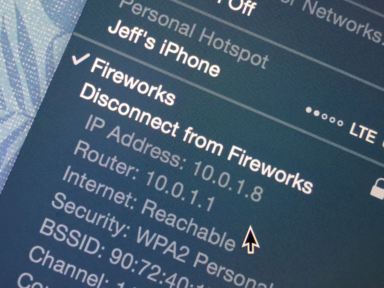 How to quickly find your Mac's Wi-Fi IP address from the menu bar