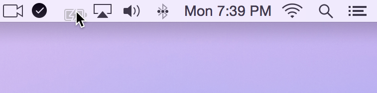 remove icons from menu bar - Menu Bar Move Battery