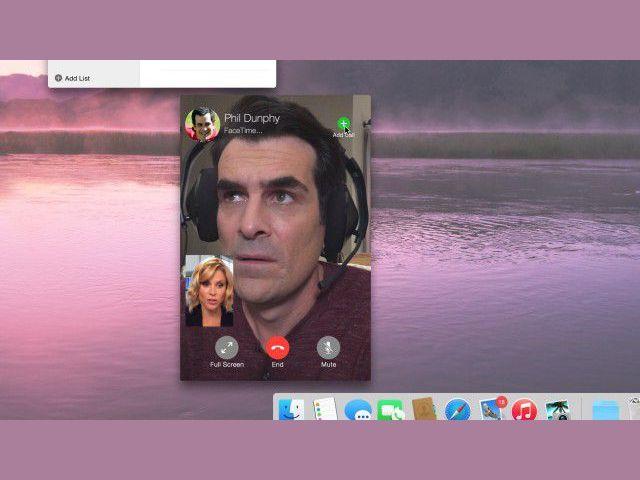 Modern Family FaceTime MacBook