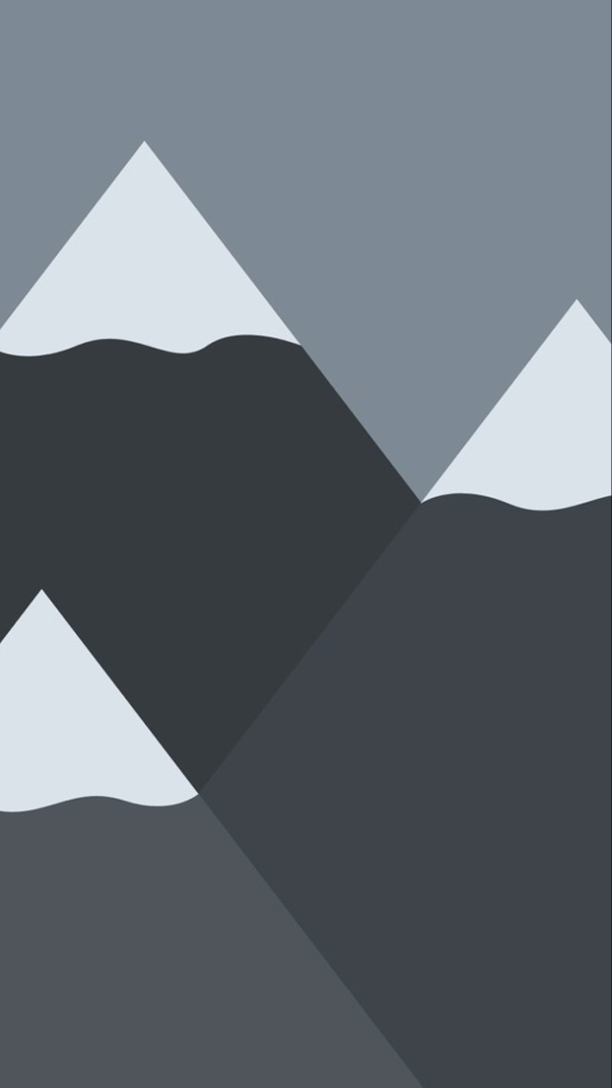 Mountains Minimal Wallpaper iPhone 6 Plus
