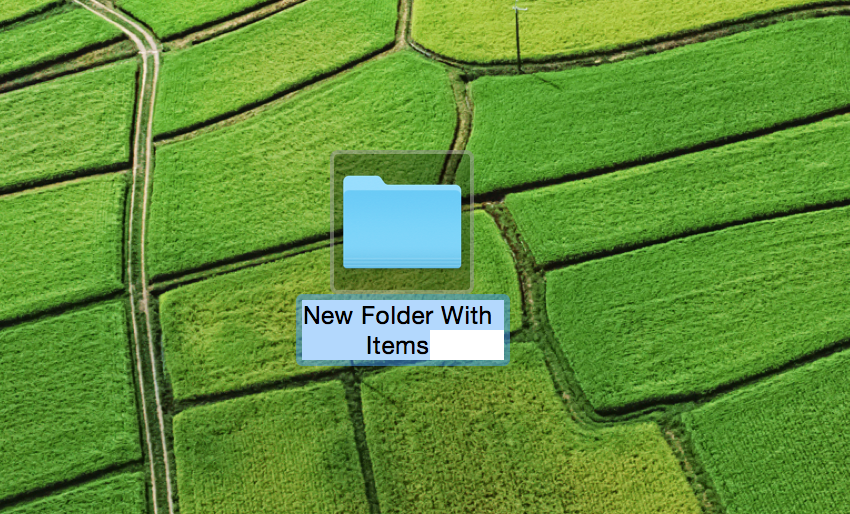 New Folder With Items