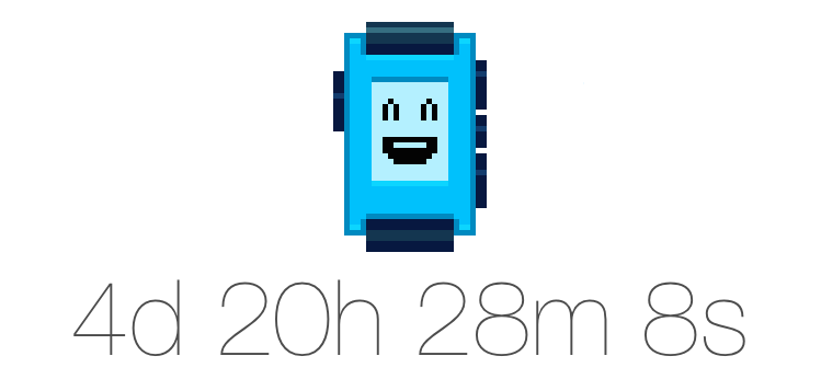 New Pebble countdonw timer