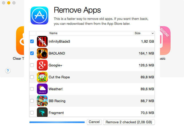 PhoneExpander for Mac Remove Apps