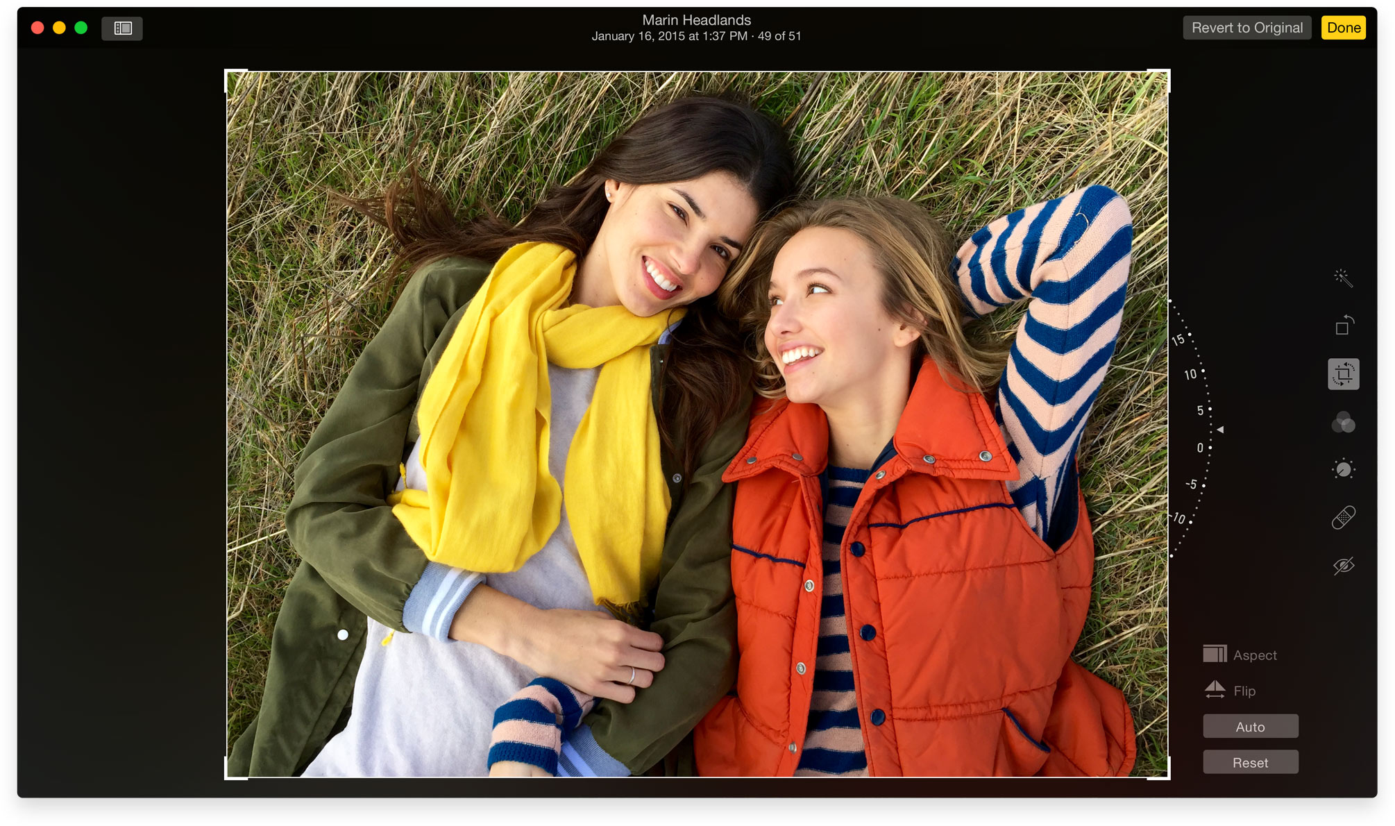 Photos for OS X Editing Mac screenshot 001