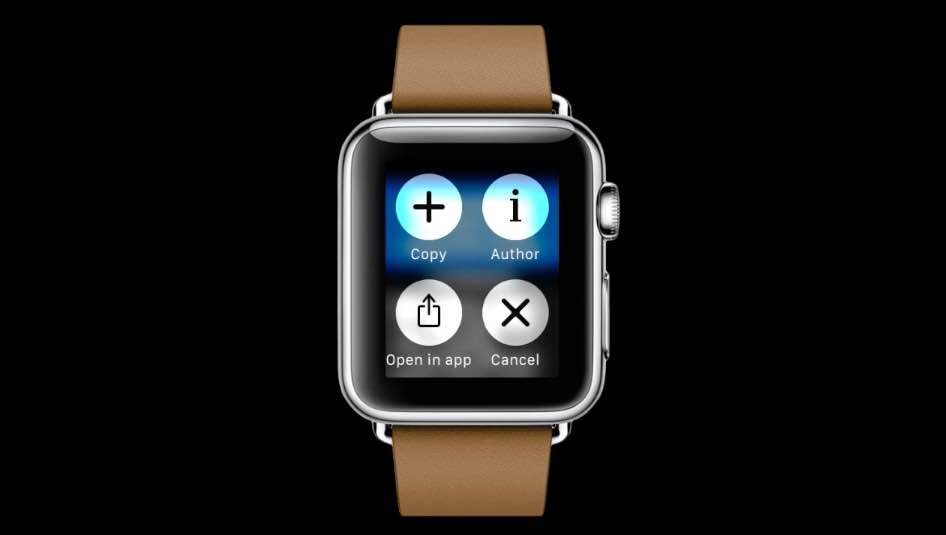 Pinned for Apple Watch teaser 001