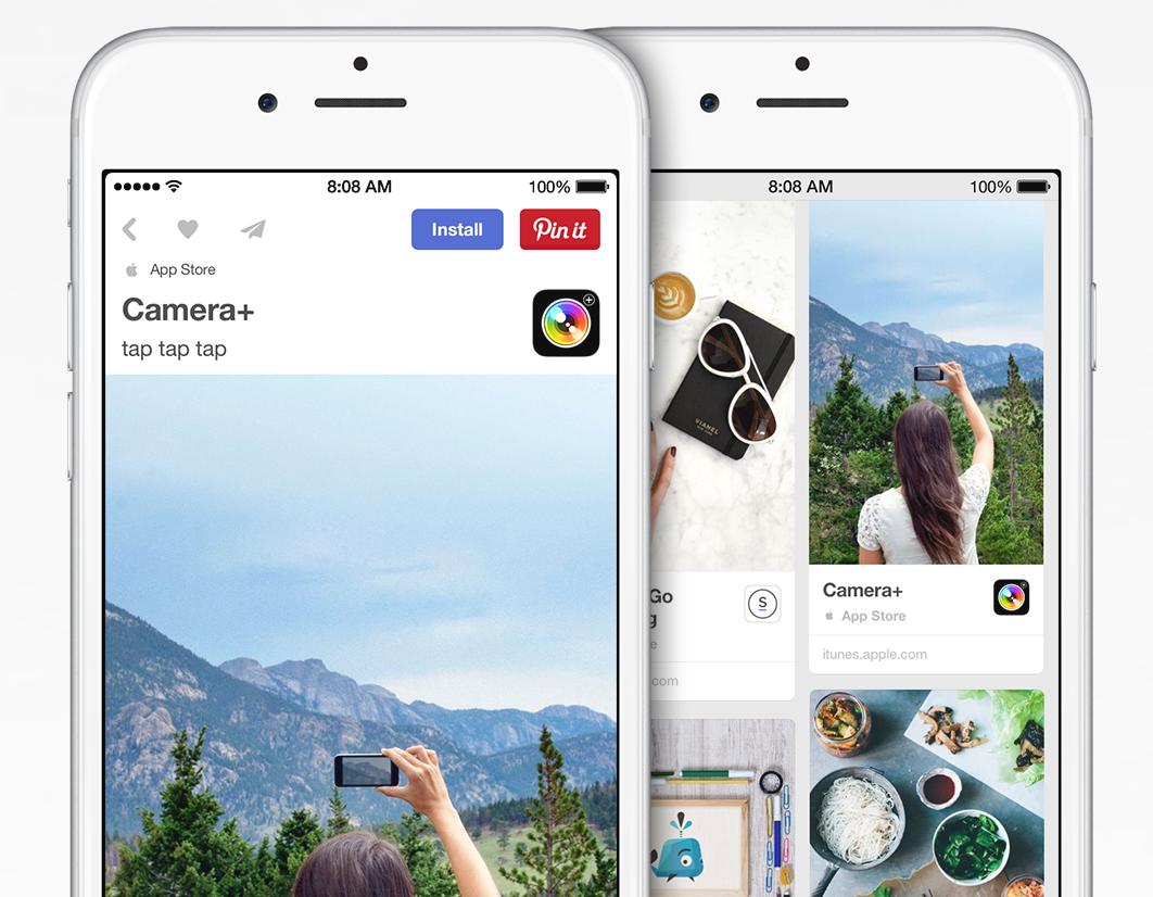 Pinterest App Pins teaser 001