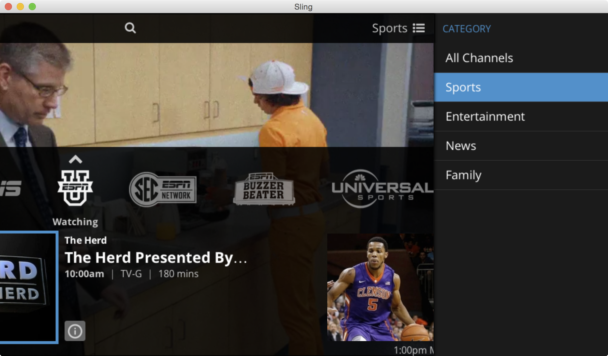 Review: Sling TV for Mac and iOS