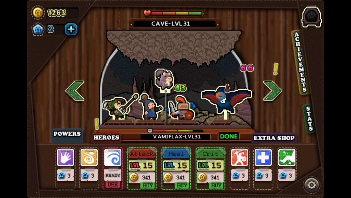 Tap Heroes 3