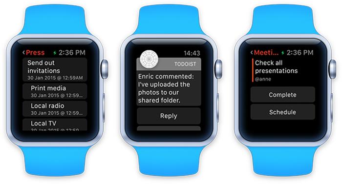 Imagen 001 de Todoist Apple Watch