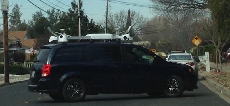 apple camera car