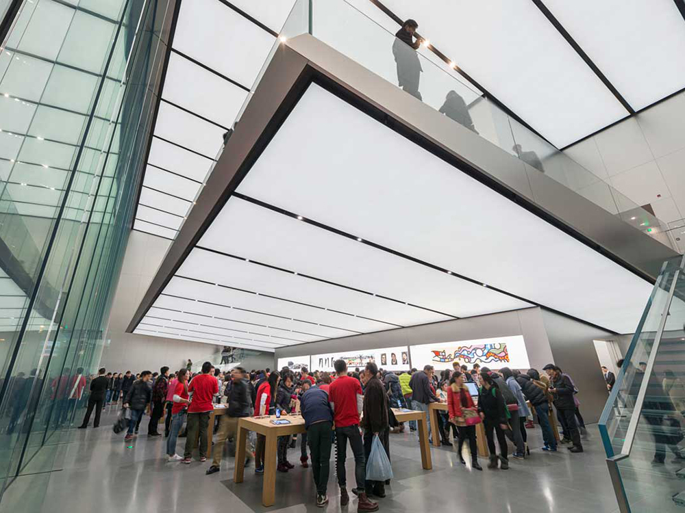 New Apple Store In China Has A Free Floating Second Floor