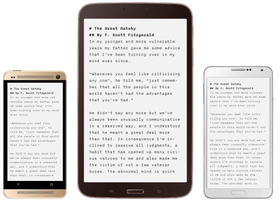 iA Writer for iOS Android teaser 001