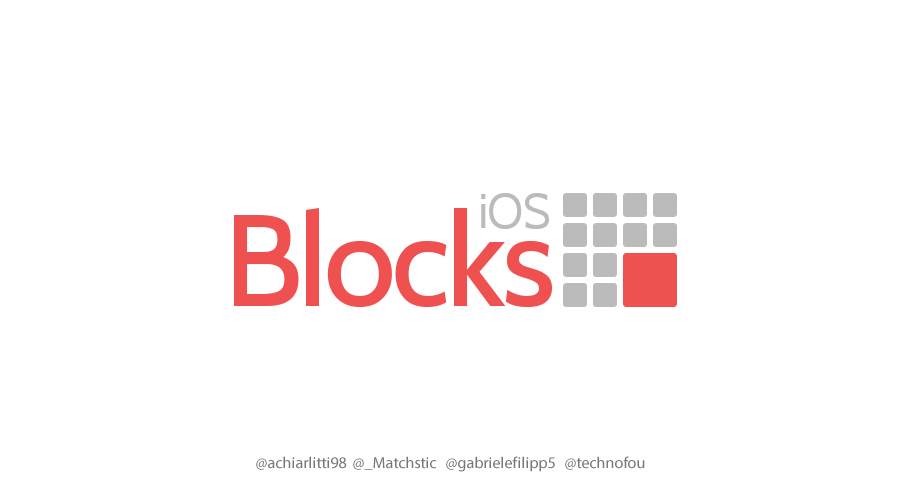 iOS Blocks