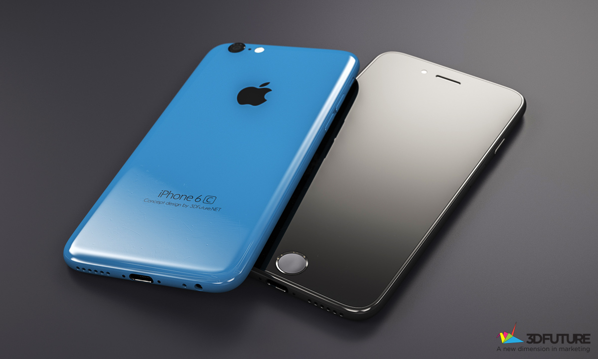iPhone 6c concept 3D Future 001